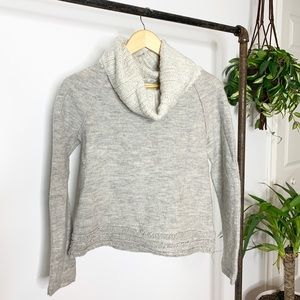 Anthropologie Sleeping On Snow Turtleneck Sweater
